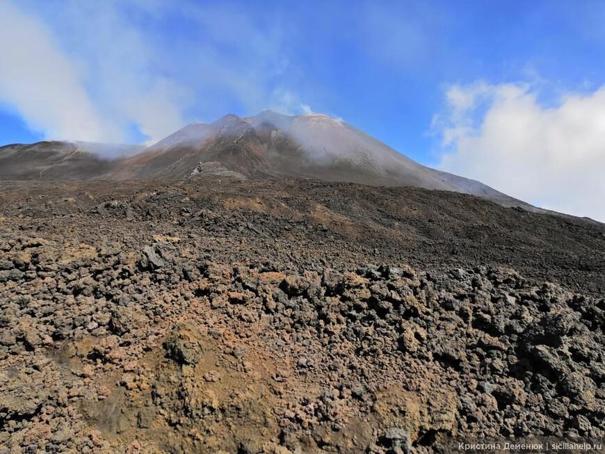 Этна- 2900 м над уровнем моря