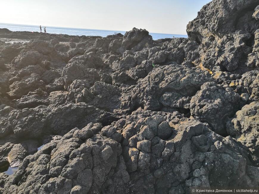 Ривьера циклопов- место самого первого извержения Этны.