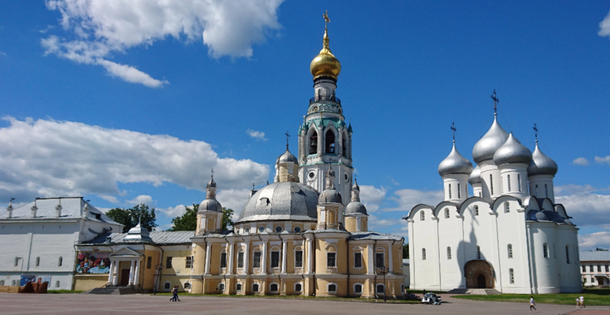 Воскресенский собор Вологды