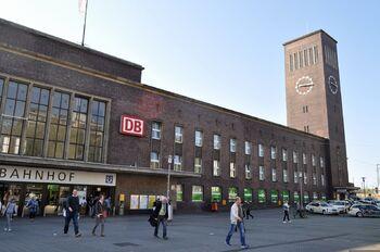 Главный вокзал Дюссельдорфа