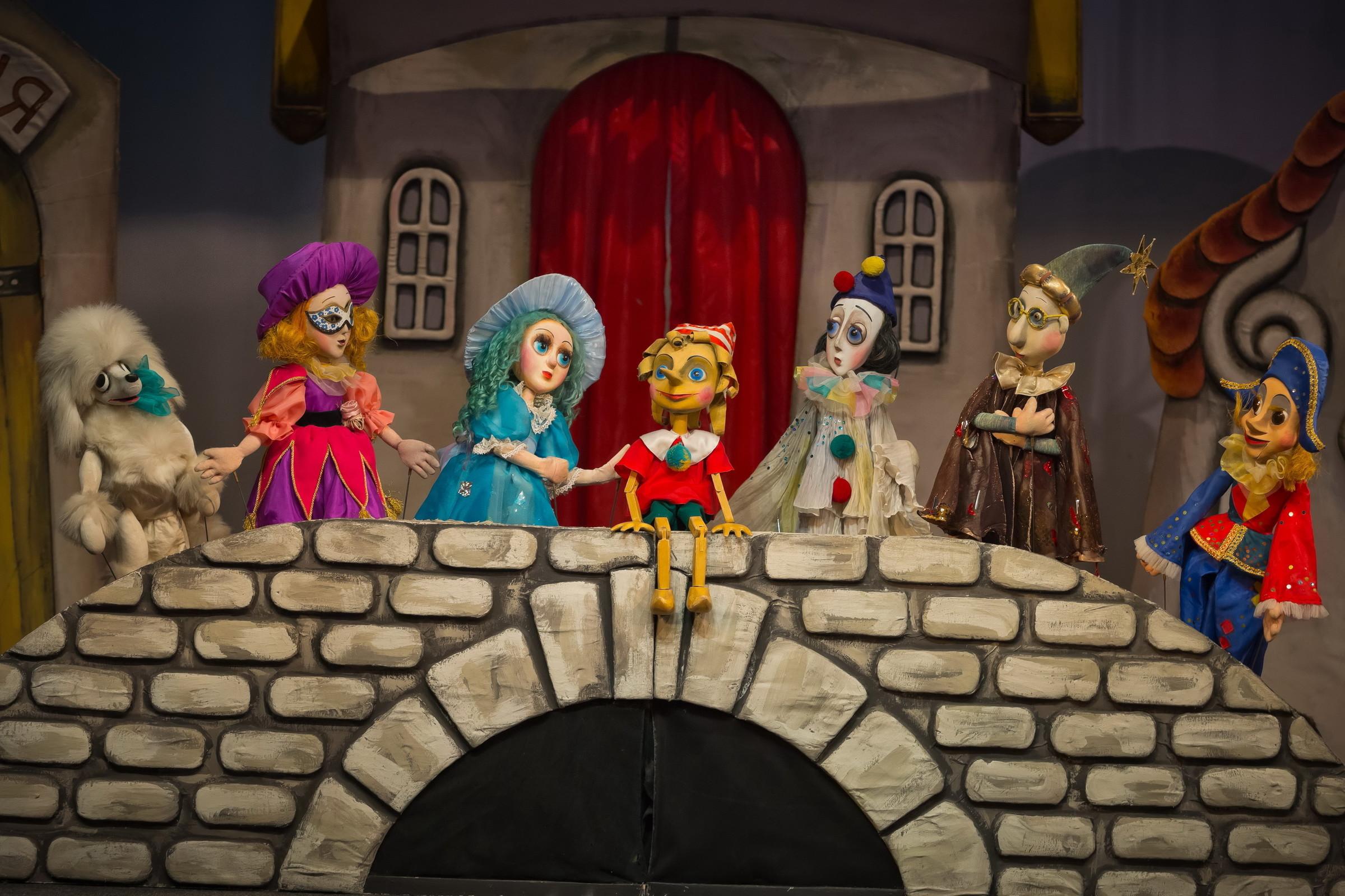 Рисунки кукольный театр буратино