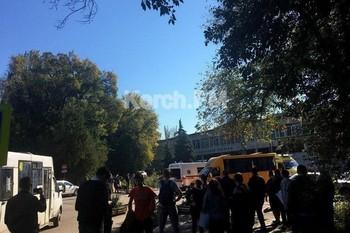 В колледже в Керчи прогремел взрыв