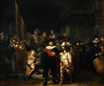 Реставрировать картину Ночной дозор Рембрандта будут в режиме онлайн