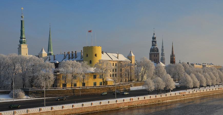 Рижский замок в Риге, Латвия