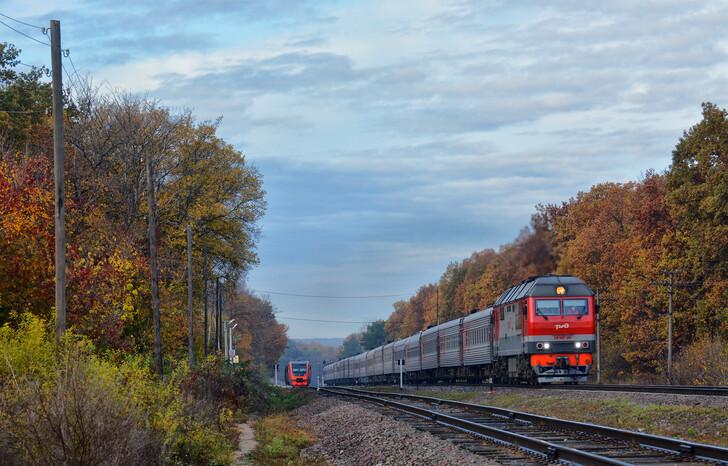 Поезд Кисловодск — Адлер (Сочи)