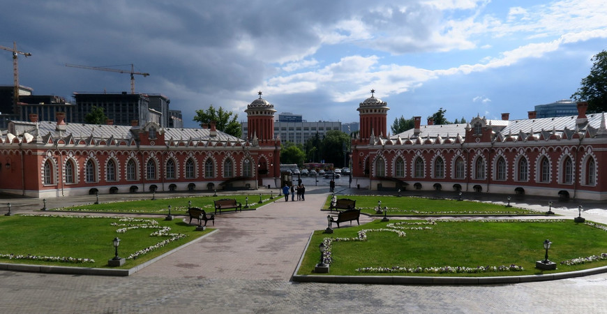 Петровский парк в Москве