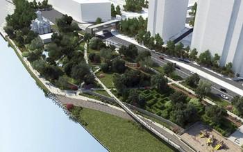 В Москве построят новую набережную между «Москва-Сити» и районом Фили