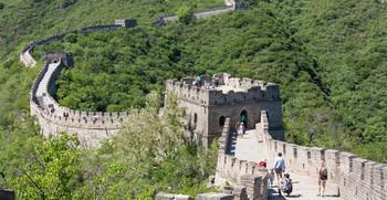 Туристка упала с Великой Китайской стены и выжила
