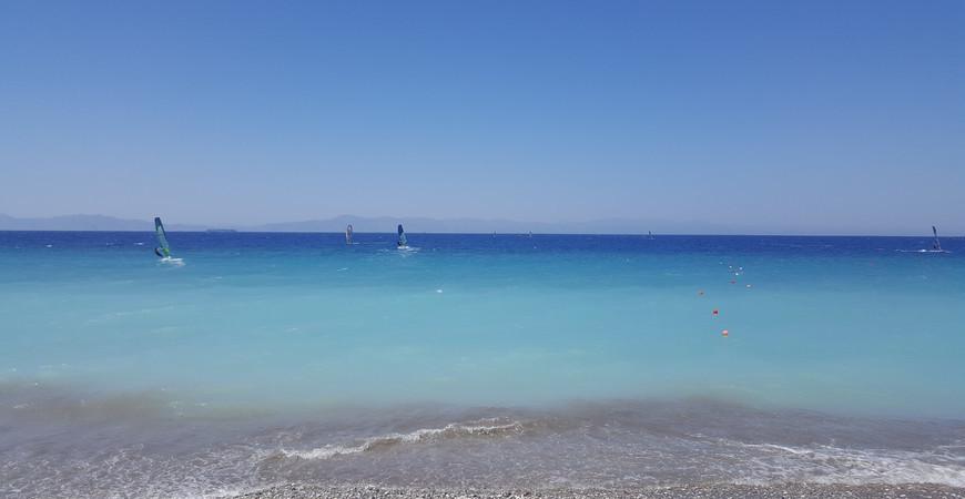 Пляж Ялиссос на Родосе