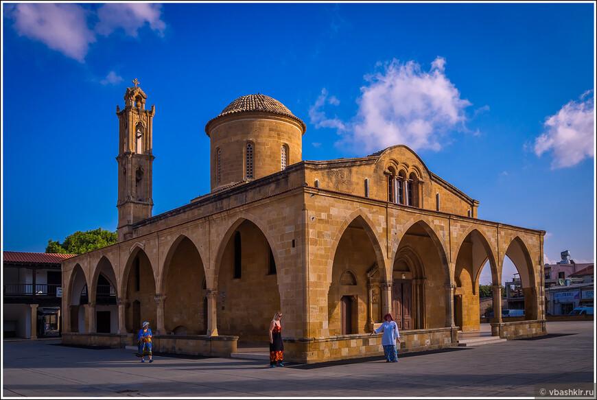 Церковь Айя Мамас. Гюзельюрт (Морфу).