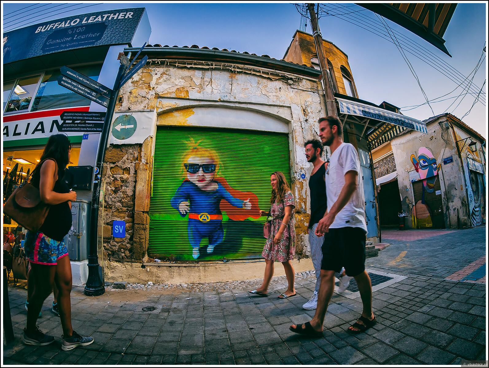 Никосия стрит-фото. Северная. На фоне супер-ребёнка., Кипроведение для мам