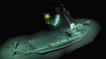 У берегов Болгарии обнаружен древнейший в мире затонувший корабль