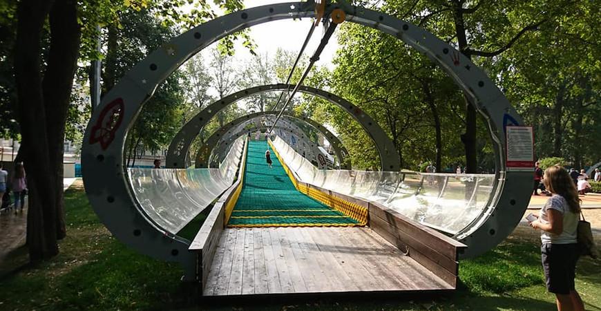 Делегатский парк в Москве