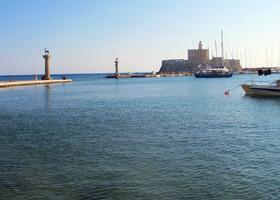 Город Родос на острове Родос