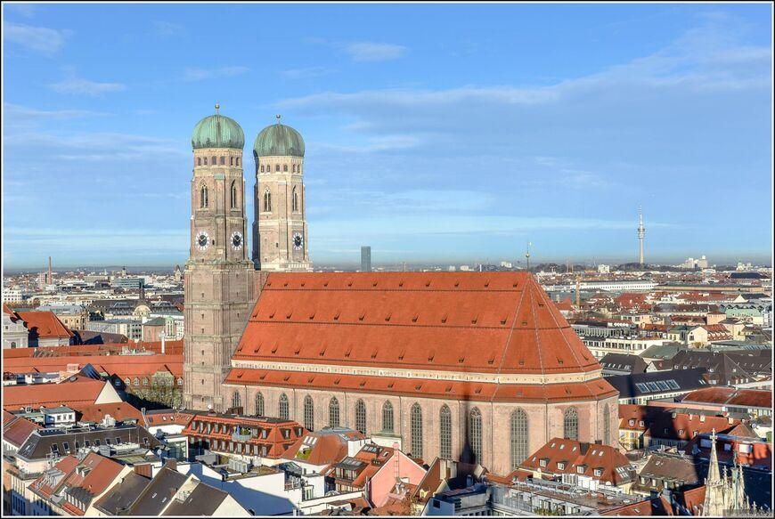 Фрауэнкирхе - собор Пресвятой Девы Марии (нем. Frauenkirche