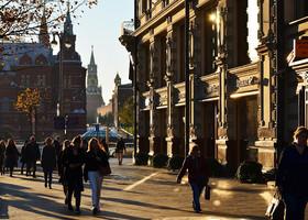 Где встретить рассвет в Москве?