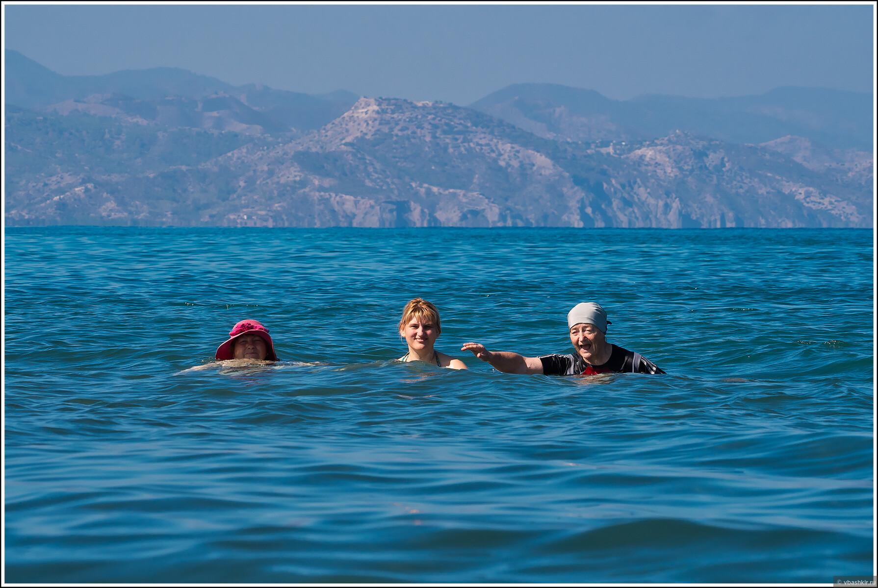 Мамы с Аней в море., Кипроведение для мам
