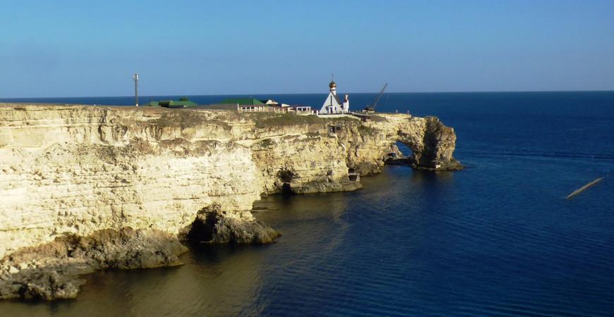 Мыс Тарханкут в Крыму