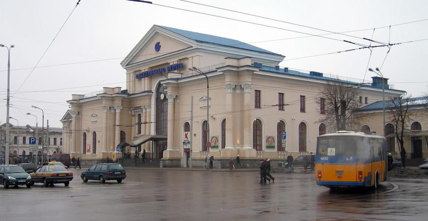 Музей железнодорожного транспорта в Вильнюсе