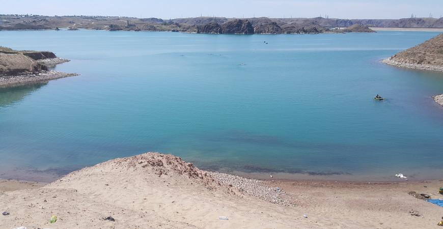 Капчагайское водохранилище