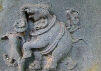 Gunjan Symbol_of_Kadamba_Dynasty.JPG