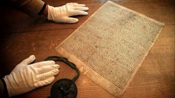 В Солсбери задержан мужчина, пытавшийся украсть Великую хартию вольностей