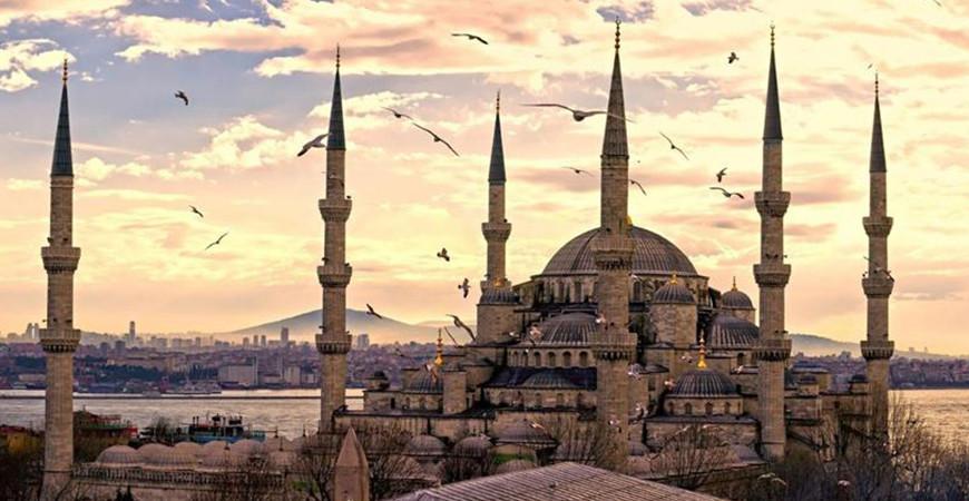 Голубая мечеть в Стамбуле (Султанахмет)