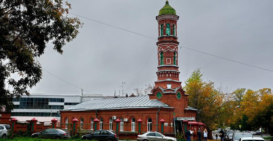 Бурнаевская мечеть в Казани