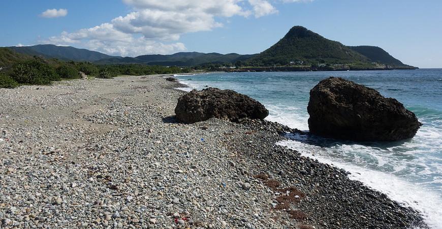 Пляж Дайкири на Кубе