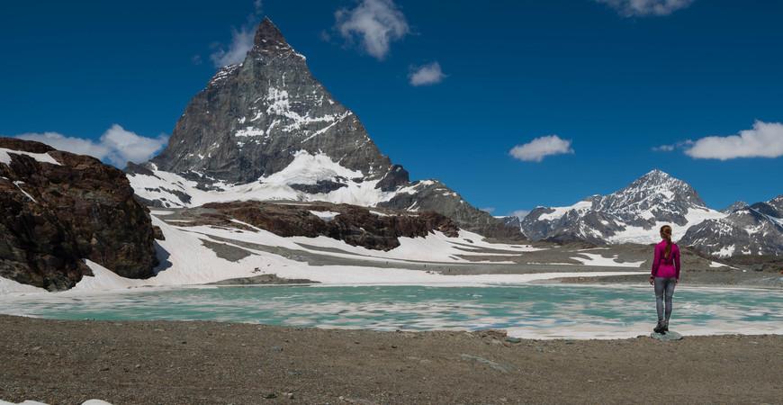 Гора Маттерхорн в Швейцарии