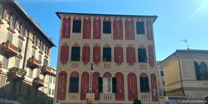Симпатично разрисованные здания