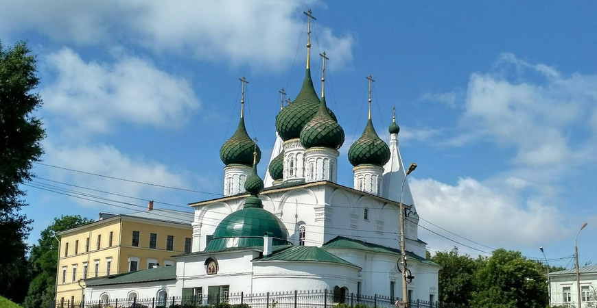 Церковь Спаса на Городу в Ярославле