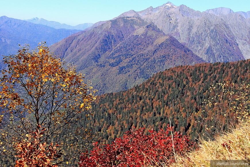 Вот как раз Тыбга, любимое место горных туров (3064метра).
