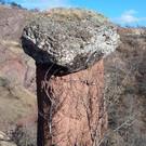 Каменные грибы в долине реки Сотера