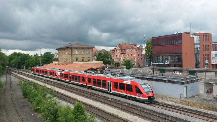 Станция в Ротенбурге