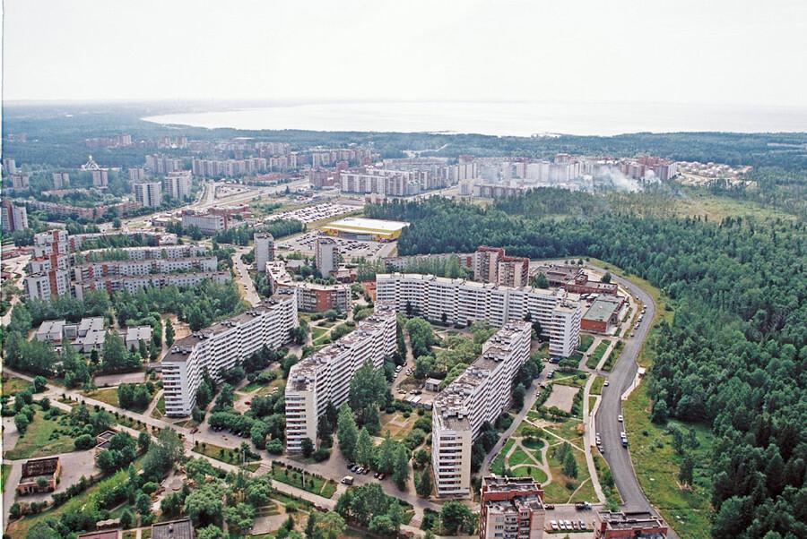 Санкт петербург сосновый бор фото