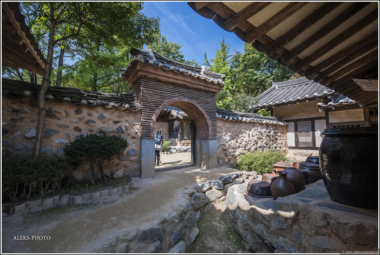 Лабиринты домиков и улочек..., Загадки корейской этно-деревни (часть вторая)