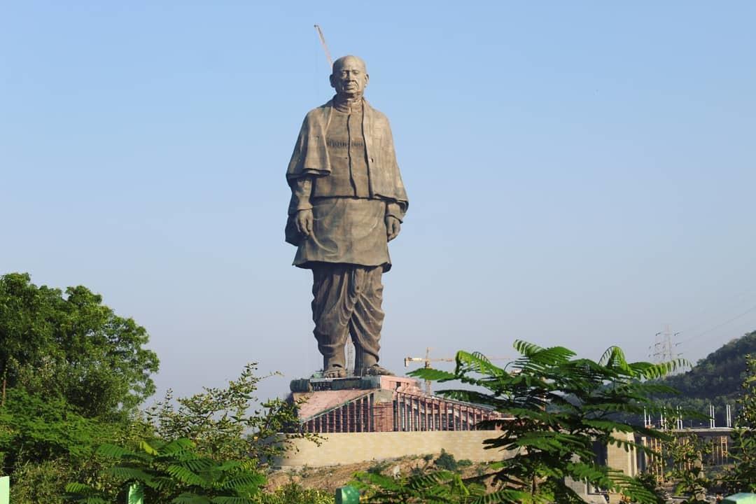 Статуя Единства, Гуджарат, Индия. Высота, координаты, отели рядом, фото,  видео, как добраться — Туристер.Ру