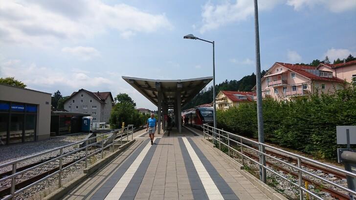 Станция в Фюссене