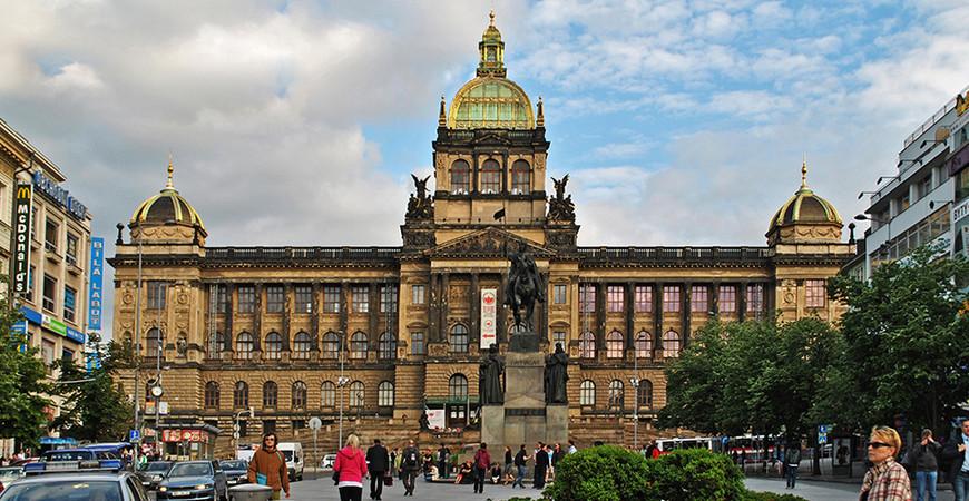 Национальный музей в Праге (Národní muzeum)