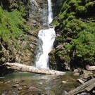 Водопад Безымянный