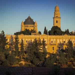 Вид на старый город из района Йамин Моше.