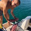 Готовим сашими из тунца