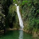 Водопад в урочище реки Чудо-Красотка