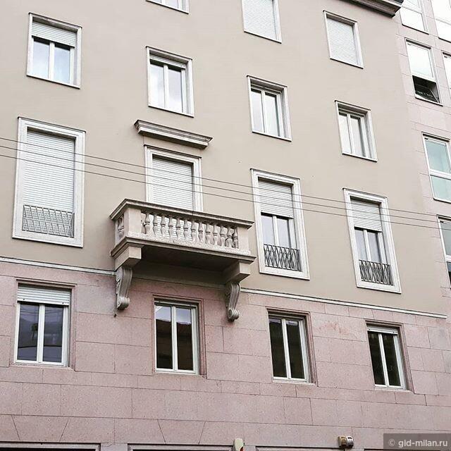 Балкон с привидением