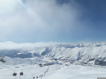 Отдых в Грузии зимой. Популярные горнолыжные курорты