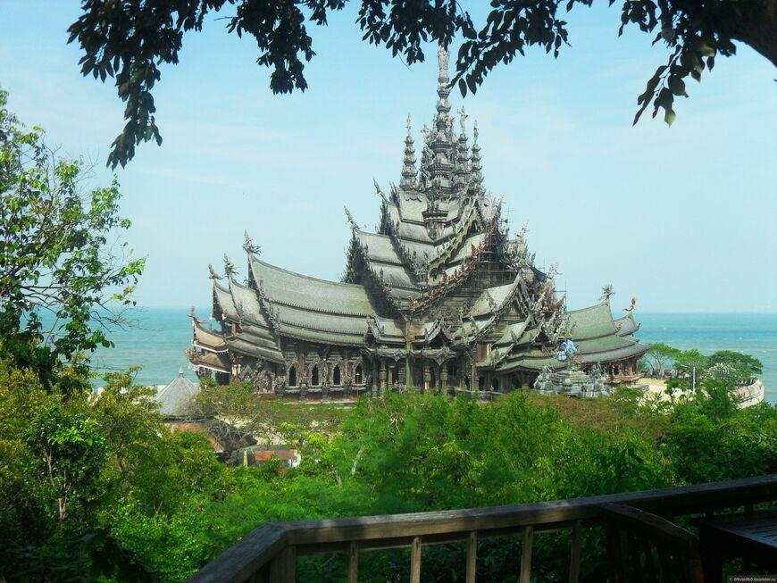Храм Истины в Паттайе - цена за вход и время работы