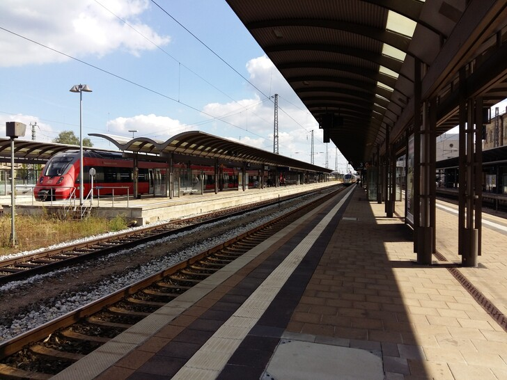 Станция в Бамберге
