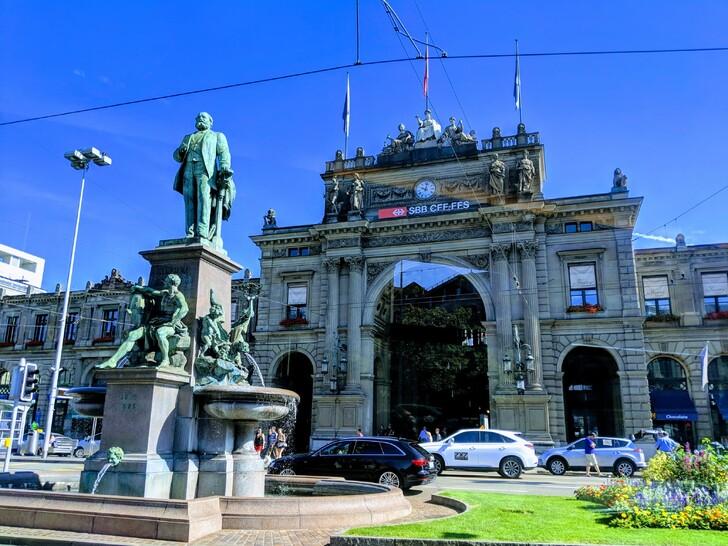Вокзал Цюриха