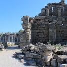 Античные городские стены Сиде